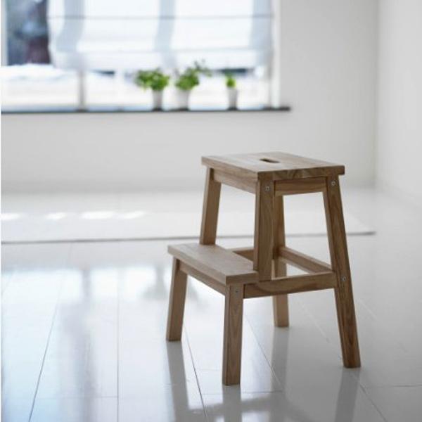 阶梯凳踏脚凳白茬凳子实木凳子贝卡姆长